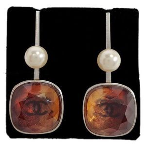🇺🇸2018 Chanel Earrings Pearl Crystal🇺🇸